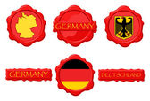 GermanyWS — Stock Vector
