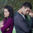 Relationship problems — Stock Photo