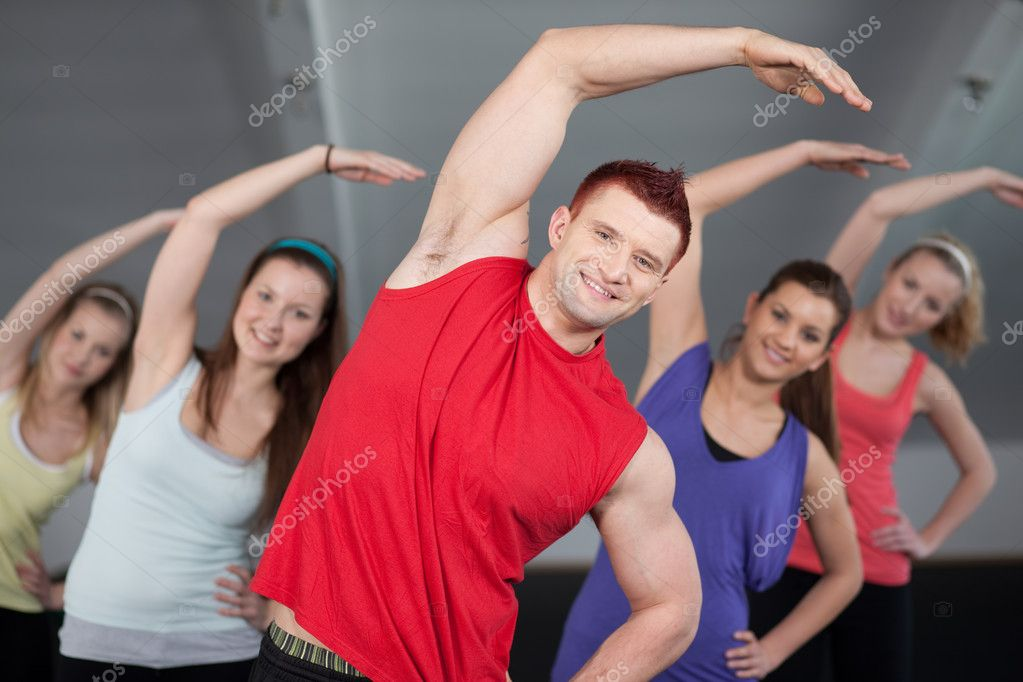At a health club — Stock Photo #6476089