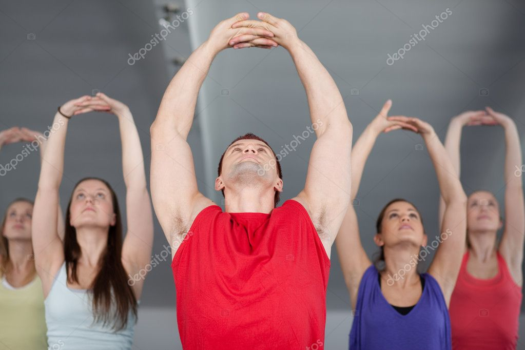 In a health club  Stock Photo #6476090