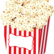 Stock Photo: Popcorn Bag Stock Illustration