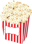 Popcorn Bag Stock Illustration — Stock Photo