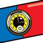 Pill Watch Illustration — Stock Vector #6526504