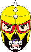 Mexican Wrestling Mask — Stock Photo