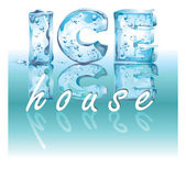 Ice House — Foto de Stock
