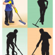 Cleaners - Stock Photo
