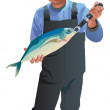 Fisherman — Stock Photo #6512027