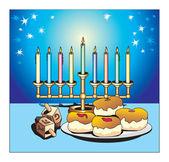 Hanukkah — Foto Stock