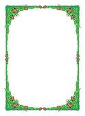 Frame tree green — Stock Photo