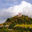Autumn Calvary - Banska Stiavnica — Stock Photo