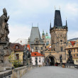 Prague charles bridge — Stock Photo #6483325