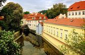 Prague - kampa watermill — Stock Photo