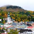 Autumn in Banska Stiavnica, Slovakia Unesco — Stock Photo #6585458