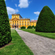 Esterhazy castle - park — Stock Photo