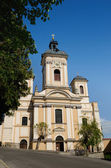 Parish church in Banska Stiavnica — Stock Photo