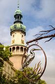 Sopron - fire tower — Stock Photo