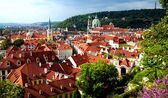 Prague - view of the historic city — Stock Photo