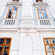 Historical building with windows in Eisenstadt — Stock Photo