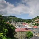 Historic mining town Banska Stiavnica, Slovakia UNESCO — Stock Photo