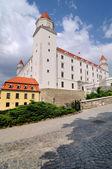 Renewed Bratislava castle, Slovakia — Stock Photo