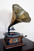 Vintage gramophone — Stock Photo