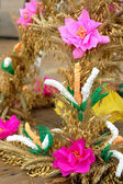 被安排的干花和谷物 — 图库照片
