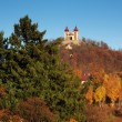 Autumn Calvary In Banska Stiavnica, Slovakia UNESCO — Stock Photo