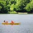 Summer boating on lake — Stock Photo #6668354