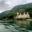 Stock Photo: Manor house in Switzerland