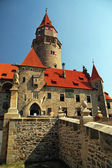 Castle Bouzov in Czech republic, tourism and holidays — Stock Photo