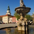 Fountain Square Kromeriz, Czech Republic — Foto de stock #6670872