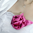 Stock Photo: Bride rose