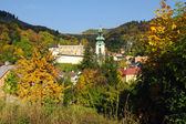 Old castle in Banska Stiavnica, Slovakia — Stock Photo