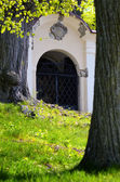 Calvary chapel in Banska Stiavnica, Slovakia — Stock Photo
