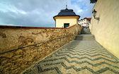 Hradcany prag yol — Stok fotoğraf