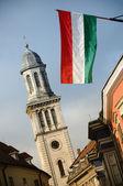 Lutheran church in Sopron, Hungary — Stock Photo