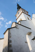 Catholic church in the town Nove mesto nad Vahom, Slovakia — Стоковое фото