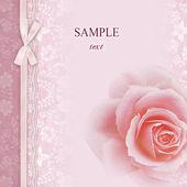 Wedding invitation, frame — Stock Photo