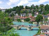 Cityscape of Berne, Switzerland — Stock Photo