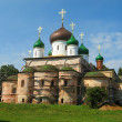 Orthodox Cathedral with green cupola — Stock Photo #6732341