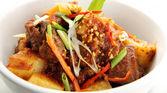 Potato curry indian food — Stock Photo