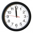 Stock Photo: One Minute to 12 oclock