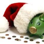 Holiday Savings Bank — Stock Photo