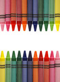Crayon Frame — Stock Photo