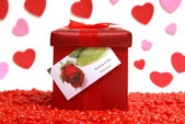 Gift With Love — Foto de Stock