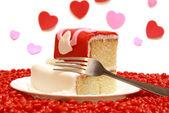 Kousek koláče — Stock fotografie