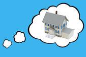 Dream House Concept — Stock Photo