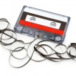 Destroyed Cassette - Stock Photo