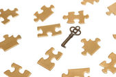 Puzzling Solutions — Stock Photo