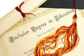 Bachelor of Education — Stock Photo